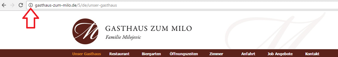 Chrome ohne https Zertifikat